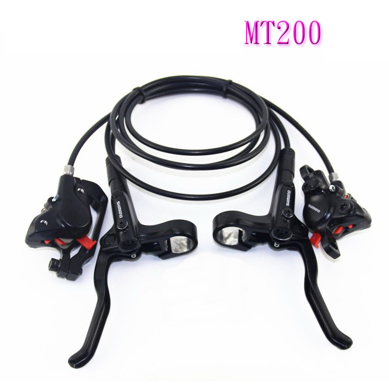 MT200 M315 MTB mountain Bike Hydraulic Disc brake sets For SHIMAN0 MT200 Brakes Lever Avid Mountain Clamp Brakes upgraded MT315