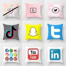 2020 new app pillow case cartoon peach skin velvet dyed plain decorative pillow case sofa car bed pillow case цена 2017