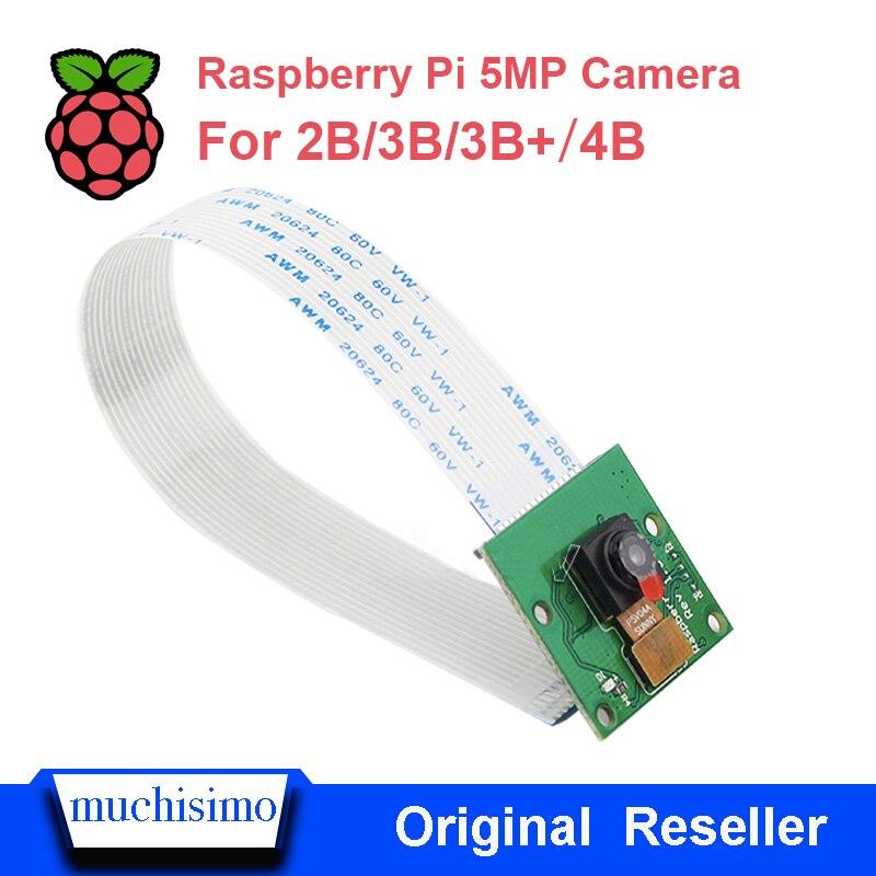 Raspberry Pi 4 Model B Camera Module 1080p 720p Mini Camera 5MP Webcam Video Camera Compatible For Raspberry Pi  4B 3B 3B+ 2B
