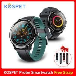KOSPET sonda IP68 wodoodporny inteligentny zegarek mężczyźni 24 godzin pomiaru tętna Monitor do spania tryb sportowy Smartwatch dla kobiet