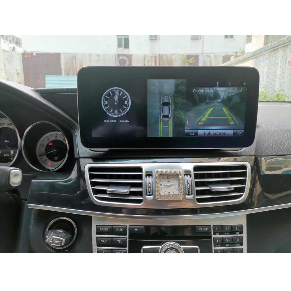 10.25 インチ 4 + 64 グラム Android ディスプレイ用メルセデスベンツ E クラス W212 2009-2016 カーラジオ画面 GPS ナビゲーションの Bluetooth タッチスクリーン