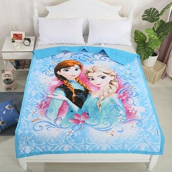 Flannel Fleece Blanket Bed Throw Anna Elsa Kids Girls Boys Disney Frozen 2
