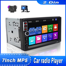 2 Din Auto Radio Touch Screen Display Digitale Bluetooth 2din Autoradio Auto Backup Monitor Multimedia USB 7