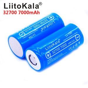 Image 2 - 8pcs/ LiitoKala 3.2V 32700 7000mAh Lii 70A LiFePO4 Batteria 35A Scarico Continuo Massimo 55A batteria Ad Alta potenza