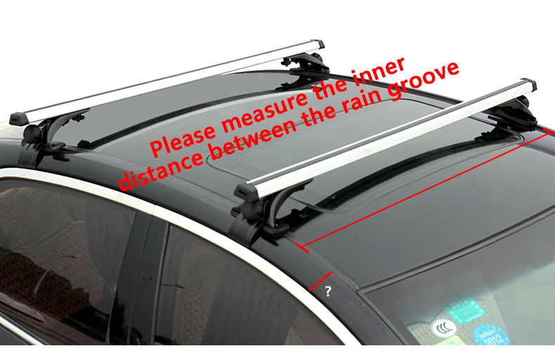 2X 120cm Universial Car Roof Rack Cross Bar Holder Aluminum for SUV Carrier Bike Rack Cargo Basket Roof Luggage Box|  - title=
