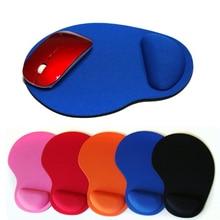 Коврик для мыши с защитой запястья для компьютера, ноутбука, ноутбука, клавиатуры, коврик для мыши, комфортная поддержка запястья для игры, коврик для мыши