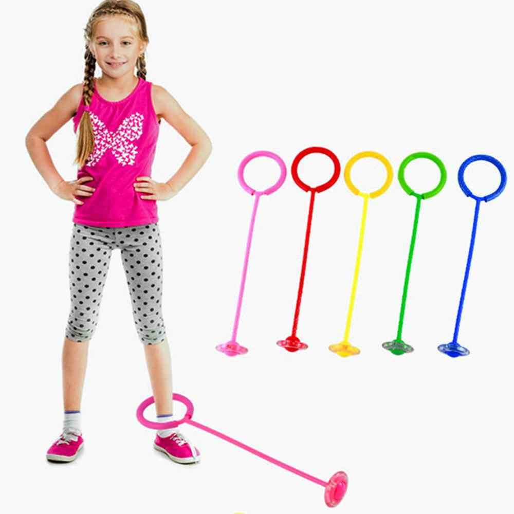 FunPa Skip Ball Swing Ball Flashing Jumping Ring Jump Ropes Dancing Toy Football Exercise Fitness Equipment Gift for Children Kids Adult