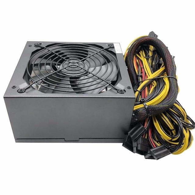 2000W Mining Power Supply Asic bitcoin new Gold power 2000w  PLUS ETH  supply ATX mining Machine support 8 GPU cards PSU 1