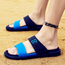 Men's Sandals Jelly-Shoes Outdoor Summer Hollow-Slippers Fashion New Man Casual Lighted