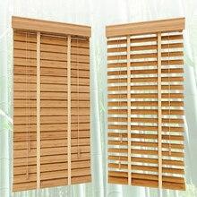 대나무 베네 치안 블라인드 35 mm 판금 사용자 정의 크기 창 셔터 홈 장식에 대 한