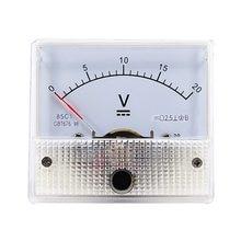 Voltmètre à panneau analogique, voltmètre, manomètre, 85C1, 5V, 10V, 15V, 20V, 30V, 50V, 2020 V, 100V, 200V, 300V, V