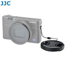 JJC 52mm MC UV CPL filtre adaptörü Sony RX100 VI RX100 VII Canon G5X Mark II Lens cap takımı kaleci RX100 M6 kamera çantası çantası