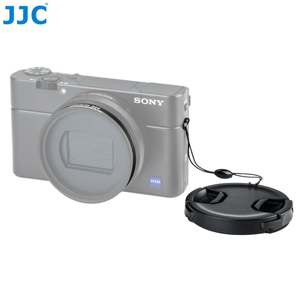 JJC 52mm <font><b>MC</b></font> UV CPL Filter Adapter for Sony RX100 VI RX100 VII for Canon G5X Mark II Lens Cap Kit Keeper RX100 M6 Camera Case <font><b>Bag</b></font> image