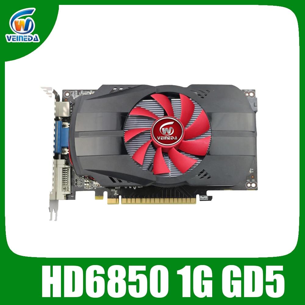 4596.44руб. 26% СКИДКА|Графические карты veineda HD6850 1 ГБ GDDR5 графическая карта HDMI DP DVI порт для Radeon сильнее R7 350, HD6750, GT740|Графические карты| |  - AliExpress