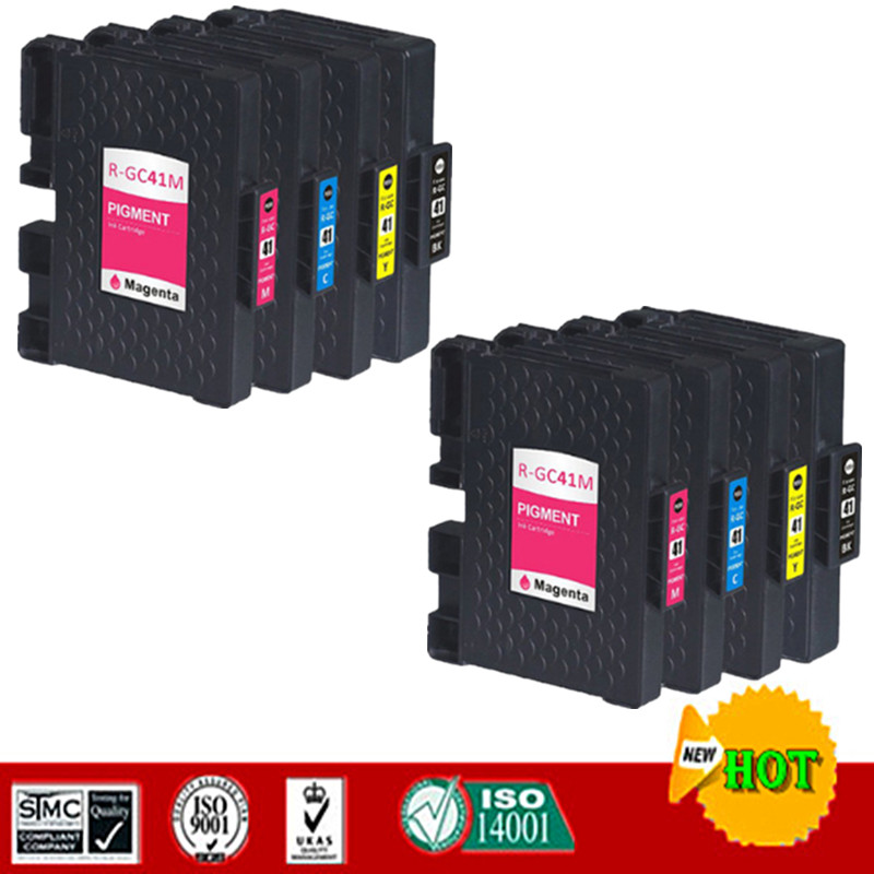 Compatible Ink Cartridge For GC41, GC-41 Suit For Ricoh SG3100  SG2100  SG2010L  SG7100 ,Full With Pigment Ink