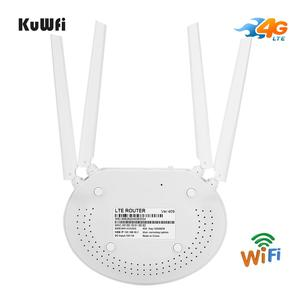 Image 5 - KuWfi 4G LTE Router 150Mbps CAT4 Wireless CPE Routers Unlocked Wifi Router 4G LTE FDD/TDD RJ45Ports&Sim Card Slot Up to 32users