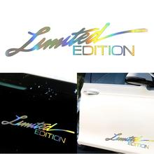 Car Sticker 3D 16CM*3.8CM LIMITED EDITION Creative Vinyl Sticker On Car Stickers and Decals Window Sticker Car-styling Decal vinyl car stickers creative vinyl sticker on car stickers and decals window sticker car styling decal