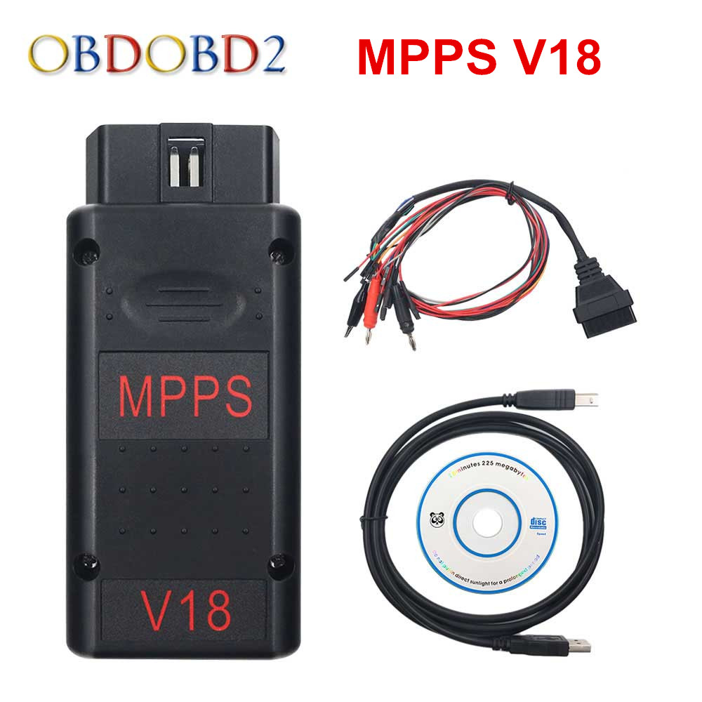 Newest MPPS V18.12.3.8 MAIN + TRICORE + MULTIBOOT MPPS V18 With Breakout Tricore Cable Car Tool Support Multi-Languages