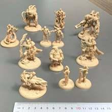 Lotes golden wars guerreiro figura tempore jogo de tabuleiro miniaturas role playing colecionáveis