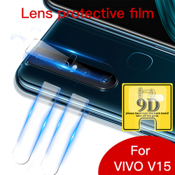 На Алиэкспресс купить стекло для смартфона 10pc/lot full coverage transparent tempered glass camera lens protector for vivo v9 v11 pro v15 v17 u1 u3 u3x clear glass film
