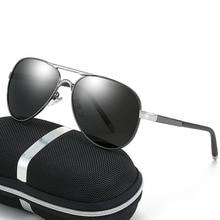 Polarized Sunglasses Men Brand Designer Mercede 8503 Metal Retro Driving Fishing Glasses UV400 Pilot gafas sol