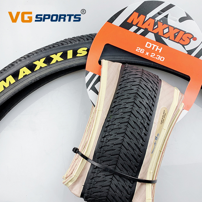 1 шт., шина для велосипеда MAXXIS в стиле ретро, 26*2,3, 26*2,15, бежевая, для альпинизма, BMX, уличные велосипедные шины, сверхлегкая велосипедная шина DTH ...