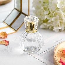 50 Ml New Empty Refillable Bottles Portable Perfume Bottle Traveler Glass Spray Atomizer Transparent Container