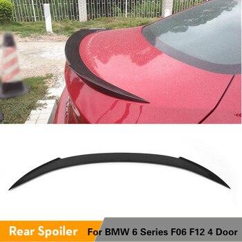 BMW 6 Serisi Için M6 F06 F12 640i 650i 640i Sedan Arka Bagaj Spoiler Boot Dudak Kanat 2012-2016 Karbon Fiber/FRP