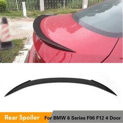 Dla BMW serii 6 M6 F06 F12 640i 650i 640i Sedan tylny spojler bagażnika tylny spojler skrzydło 2012 - 2016 Carbon Fiber / FRP