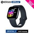 [Value King] Новые смарт-часы Zeblaze Crystal 3  WR IP67  пульсометр  артериальное давление  длительный срок службы батареи  IPS  цветной дисплей  умные часы