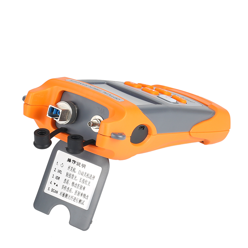Image 4 - COMPTYCO  AUA328 Handheld OTDR 60km Optical Fiber Ranger Fiber optic cable obstacle detector 1550nm Fiber breakpoint tester-in Fiber Optic Equipments from Cellphones & Telecommunications