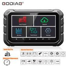GODIAG – programmeur GD801, Support de programmation de clé/kilométrage/ABS/EPB/TPMS/EEPROM multi-langues, mise à jour gratuite en ligne, obtenez GT100 gratuit