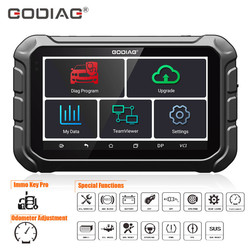 GODIAG GD801 Programmer Support Key Programming/Mileage/ABS/EPB/TPMS/EEPROM Multi-languages Free Update Online Get Free GT100