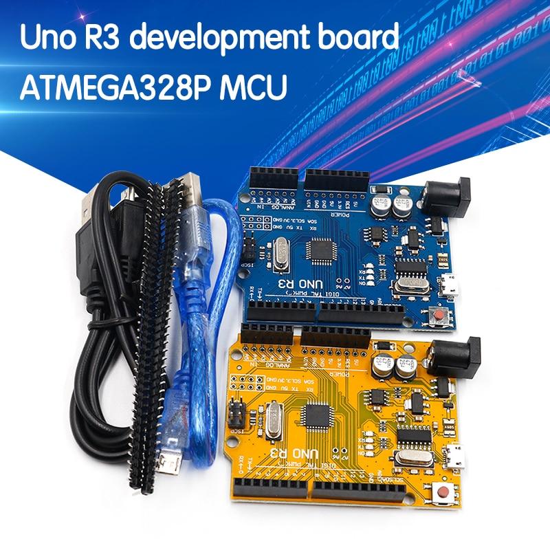 Один комплект UNO R3 (CH340G) MEGA328P для Arduino UNO R3
