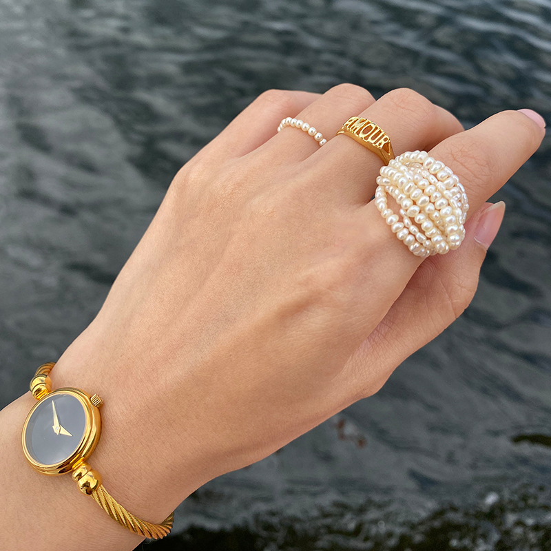 MENGJIQIAO-New-Korean-Elegant-Handmade-Multilayer-Simulated-Pearl-Rings-For-Women-Students-Hands-Jewelry-Party-Ring