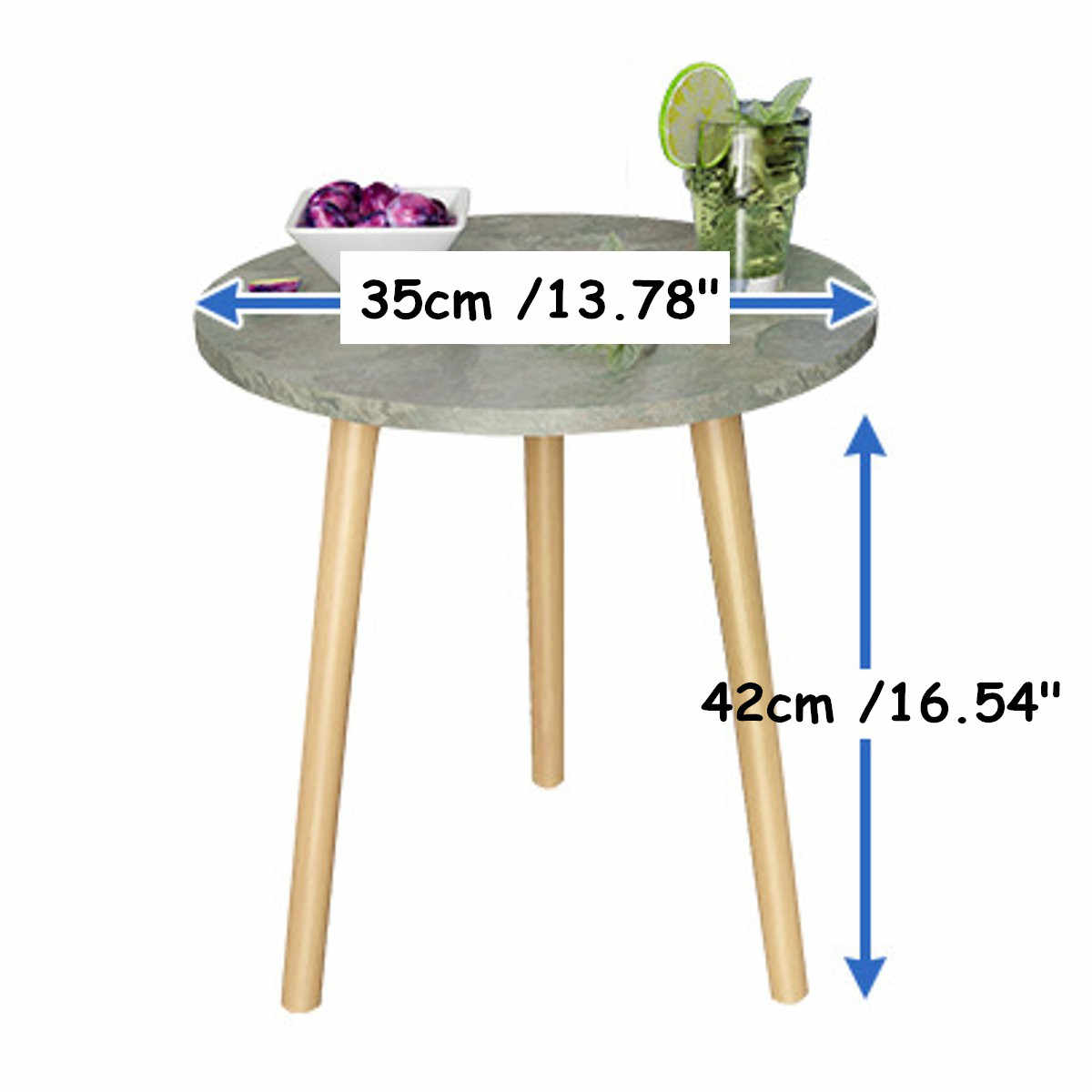 ファッションコーヒーテーブルシンプルなミニ北欧便利ソファ現代円形実用的な天然茶テーブルリビングルームの装飾