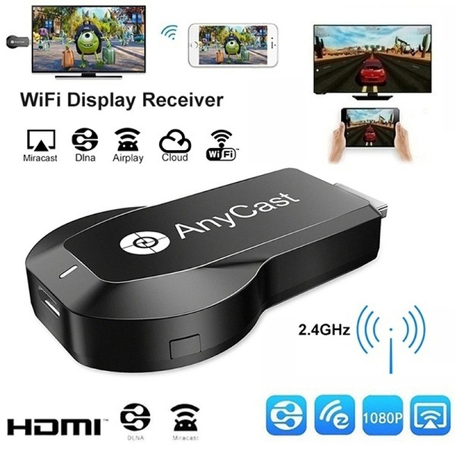 Anycast Miracast Airplay HDMI compatible 1080P TV USB WiFi Wireless Display Dongle Adapters