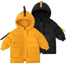 ลงแจ็คเก็ตเด็กเด็กวัยหัดเดินเสื้อเด็กฤดูใบไม้ผลิเสื้อลำลองเสื้อผ้าเด็กฤดูใบไม้ร่วงฤดูหนาว Parkas สำหรับ 2 8 ปี