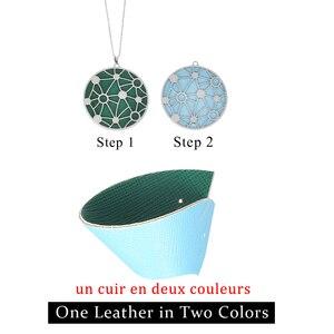 Image 3 - Cremo collar largo de acero inoxidable estrella colgante de cuero intercambiable pendientes de gota conjunto de joyas collar de cadena larga para mujer