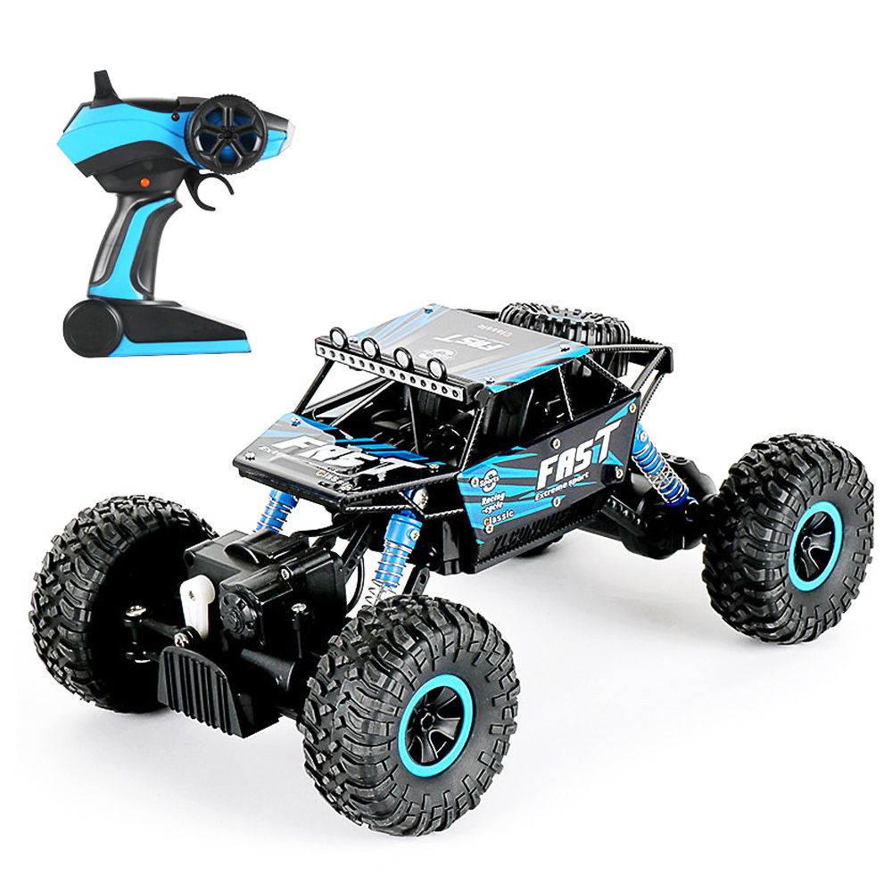 RC Car Large 2.4G 1:18 Vehicle Buggy High Speed Racing Car Remote Control Truck Four-wheel Climber For Kids Boys