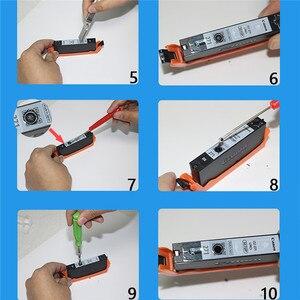 Image 3 - Оригинальный чернильный картридж, заполняющий инструмент 5/6 цветов, комплект для принтера Canon TR7520 TR8520 TS6120 TS6220 TS9520, запчасти для принтера