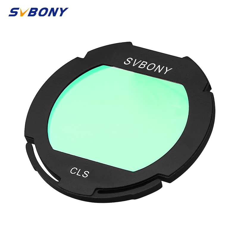 SVBONY Filter CLS Clip-on EOS Clip Broadband Camera for CCD Camera with Telescope  amp  DSL Astrophotography Monocular F9155D