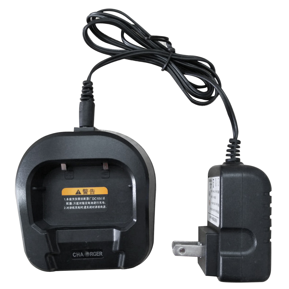 Battery Charger Accessories 110 220V With Adapter Durable Radio Indicator Light Desktops Voltage Walkie Talkie For Baofeng UV 82