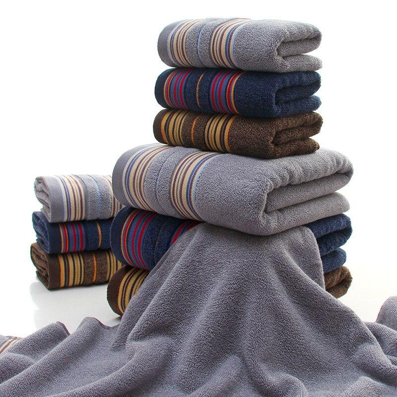 Conjunto de toalhas 1pc pcs toalha de rosto toalhas de Algodão toalha de banho + 2 3 cores profundas 100% Algodão Comprimido Rápida -Lavável Na Máquina seca toalha