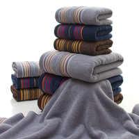 Handtuch set 1pc bad handtuch + 2 stücke gesicht handtuch Baumwolle handtücher 3 tiefe farben 100% Baumwolle Komprimiert Schnell -trocken Maschine Waschbar handtuch