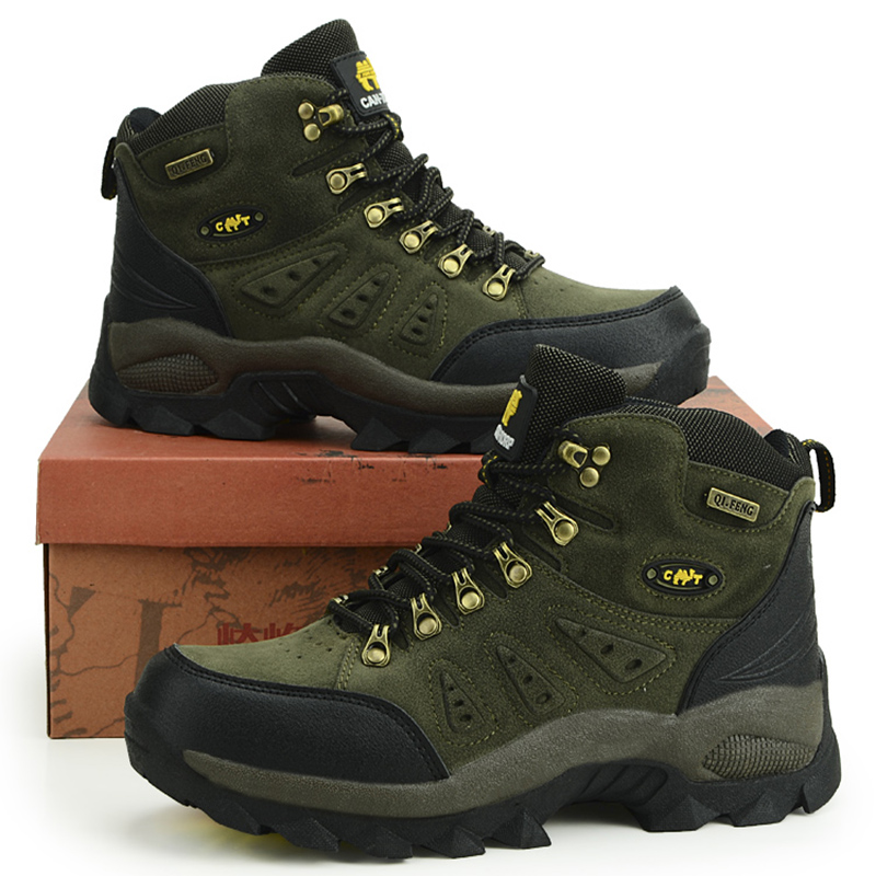 Men Women Mountain Hiking Shoes Size 36-48 Outdoor Sport Sneakers Autumn Winter Hiking Trekking Boots Climbing Shoes For Men