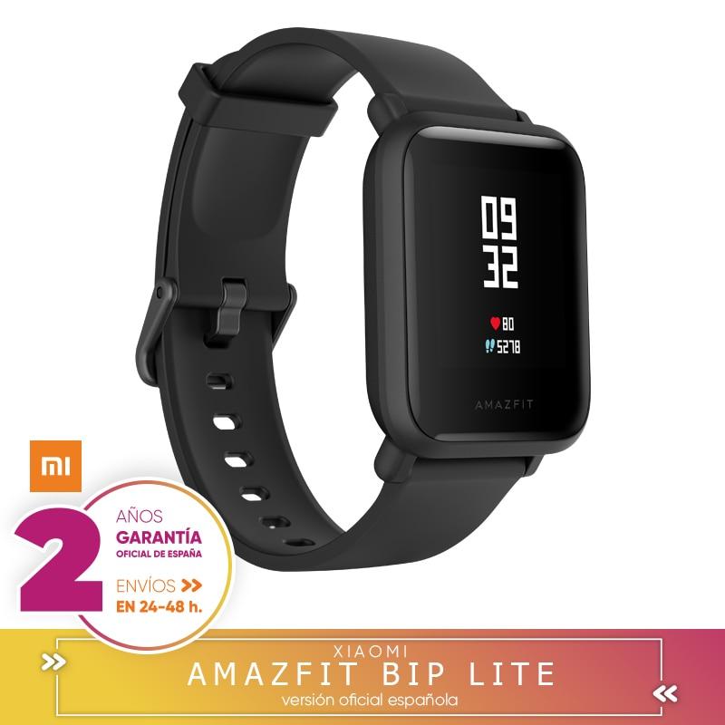 Xiaomi huami amazfit bip lite smartwatch 3atm resistiu à água 45 dias e espera 1.28 pulgadas pantalla táctil bluetooth 4.1