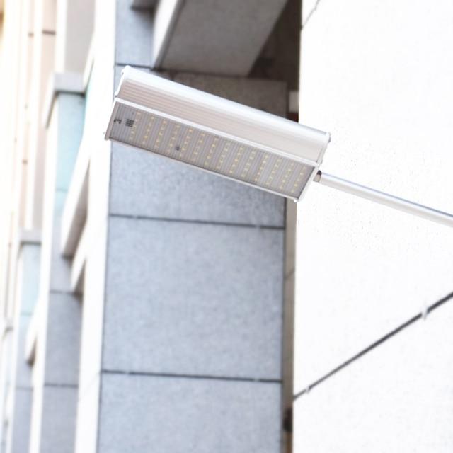 70 LED Solar Street Light With Remote Controller 5 Modes Motion Sensor Street Lamp  Waterproof Super Bright Solar Garden Light 5