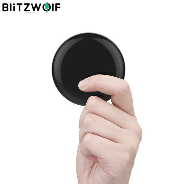 BlitzWolf BW RC1 360°10m Smart IR WIFI Infrared Remote Control Smart IR Sensor For TV Air Conditioning Home Appliances Universal