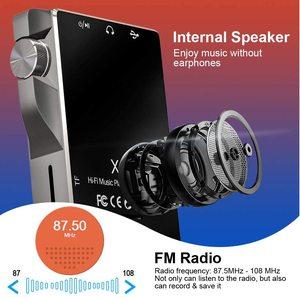 Image 2 - タッチスクリーンMP3プレーヤーbluetooth 16ギガバイトハイファイ音楽プレーヤー高解像度ロスレスウォークマンオーディオビデオ電子書籍ラジオ録音